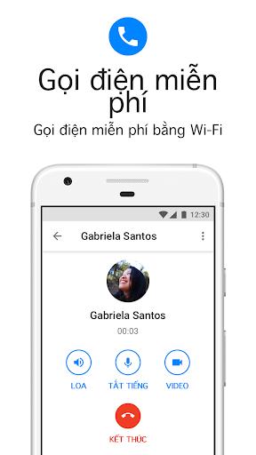 Messenger Lite: Nhắn tin & Gọi điện miễn phí - Ảnh chụp màn hình 1