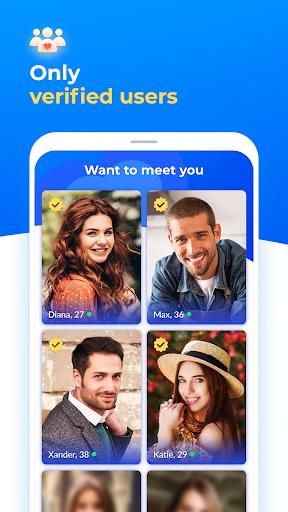 Dating with singles nearby - iHappy - Ảnh chụp màn hình 1