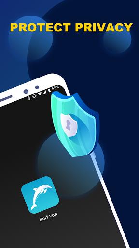 Surf - Free VPN for Tiktok, Cutout & Keyboard - Ảnh chụp màn hình 6