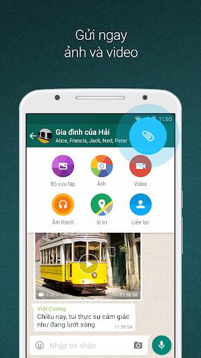 WhatsApp Messenger - Ảnh chụp màn hình 1