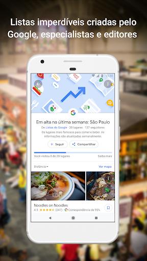 Google Maps - captura de ecrã 3
