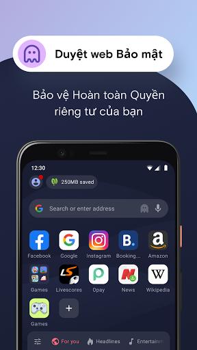 Trình duyệt web Opera Mini - Ảnh chụp màn hình 4
