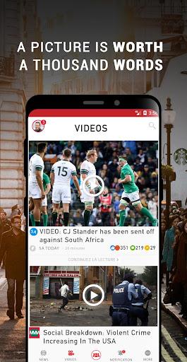 South Africa Breaking News - Ảnh chụp màn hình 1