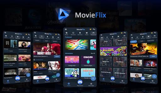 MovieFlix - Free Online Movies & Web Series in HD - Ảnh chụp màn hình 3
