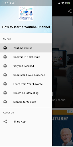 How to start a YouTube channel for beginners - screenshot 1