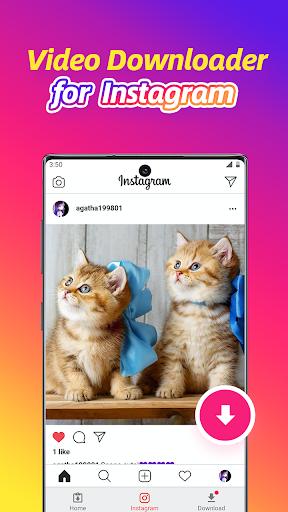 Video Downloader for Instagram, Reels, Story Saver - Ảnh chụp màn hình 0
