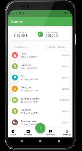 Numus: Expense, Savings & Income Tracker - screenshot 0