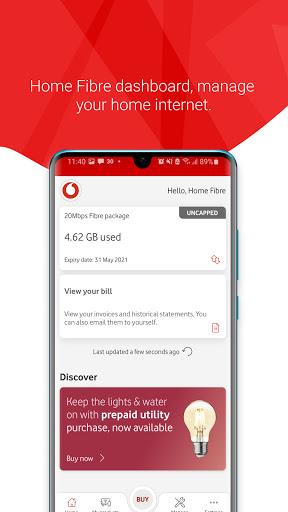 My Vodacom SA - Ảnh chụp màn hình 6