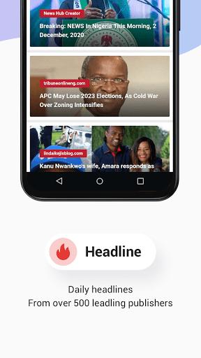 Opera News Lite - Less Data, More News - Ảnh chụp màn hình 4