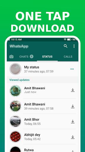 Status Saver for WhatsApp: Video Status Downloader - Ảnh chụp màn hình 1