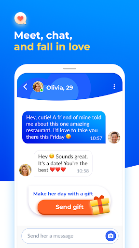 Dating with singles nearby - iHappy - Ảnh chụp màn hình 3