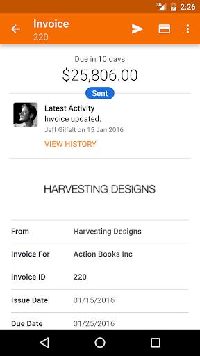 Harvest Time & Expense Tracker - captura de ecrã 2