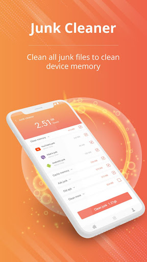 Memory cleaner. Speed booster & junk removal - Ảnh chụp màn hình 2