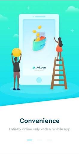 Aloan - Easy Loan, Online Cash in ZA - Ảnh chụp màn hình 1