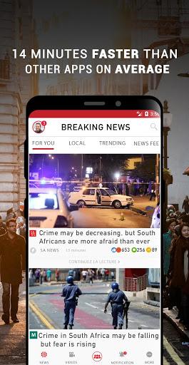 South Africa Breaking News - Ảnh chụp màn hình 0