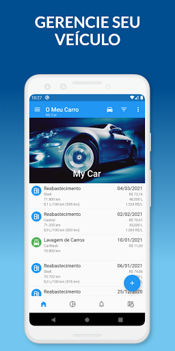 O Meu Carro: Gerencie seu veículo, combustível - captura de ecrã 0