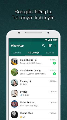 WhatsApp Messenger - Ảnh chụp màn hình 0