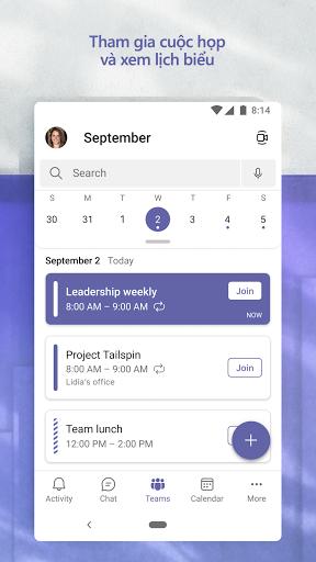 Microsoft Teams - Ảnh chụp màn hình 6