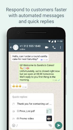 WhatsApp Business - Ảnh chụp màn hình 1