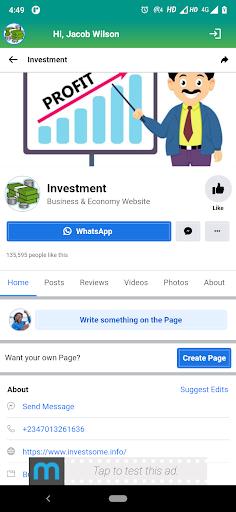 INVESTMENT - screenshot 1