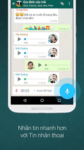 WhatsApp Messenger - Ảnh chụp màn hình 3