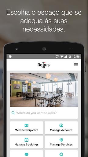 Espaços de trabalho - Regus - captura de ecrã 0