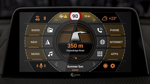 AGAMA Car Launcher - captura de ecrã 3