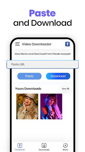 All Video Downloader - Fast Photo & Video Saver - Ảnh chụp màn hình 2