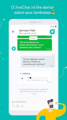 JivoChat - captura de ecrã 1