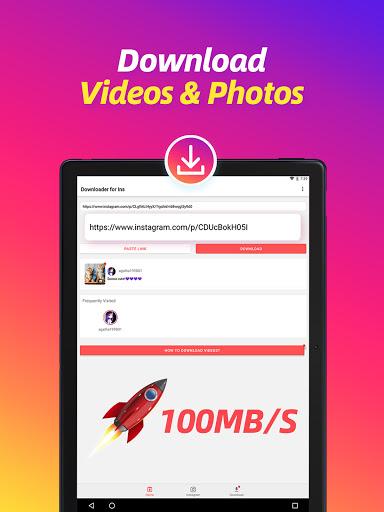 Video Downloader for Instagram, Reels, Story Saver - Ảnh chụp màn hình 9