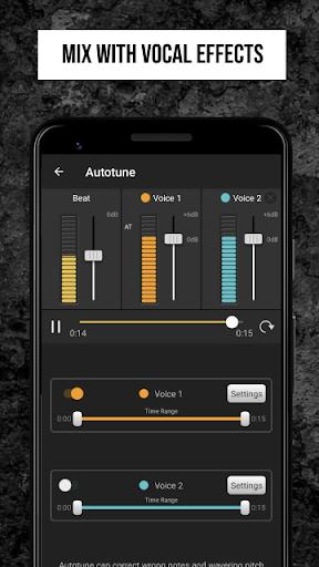 Rap Fame - Rap Music Studio with beats & vocal FX - Ảnh chụp màn hình 2