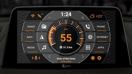 AGAMA Car Launcher - captura de ecrã 1