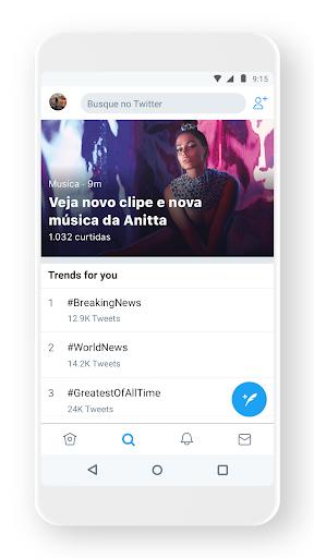 Twitter - captura de ecrã 0