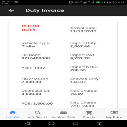CheckDuty - screenshot 2
