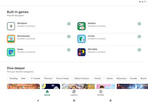 Google Play Trò chơi - Ảnh chụp màn hình 7