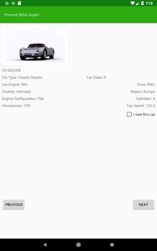Car Tracker for Forza Horizon 4 - screenshot 4
