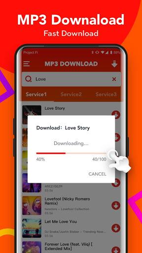 Free Mp3 Downloader - Download Mp3 music songs - Ảnh chụp màn hình 1