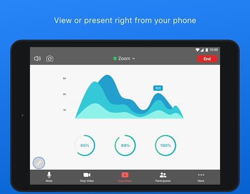 ZOOM Cloud Meetings - Ảnh chụp màn hình 9