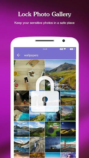 AppLock - Fingerprint & Password, Gallery Locker - Ảnh chụp màn hình 1