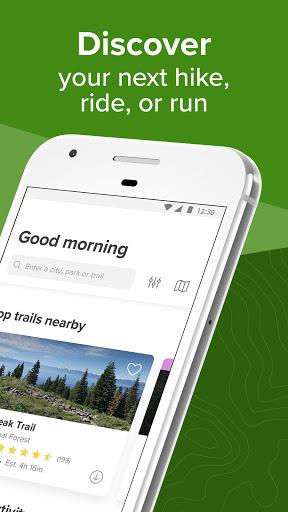 AllTrails: Hiking, Running & Mountain Bike Trails - Ảnh chụp màn hình 1