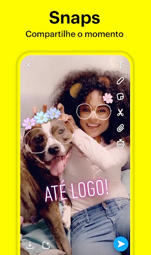 Snapchat - captura de ecrã 0