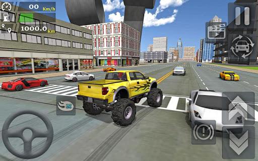Monster Truck Stunts Driving Simulator - captura de ecrã 8
