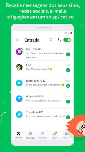 JivoChat - captura de ecrã 0