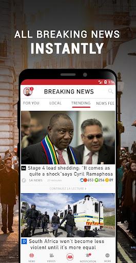 South Africa Breaking News - Ảnh chụp màn hình 2