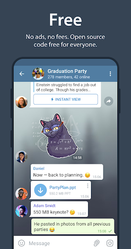 Telegram - Ảnh chụp màn hình 4