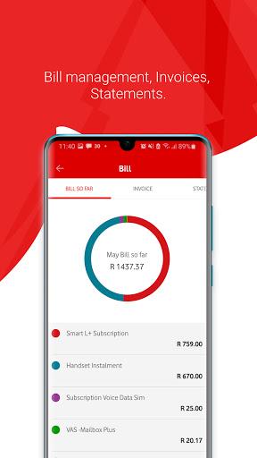 My Vodacom SA - Ảnh chụp màn hình 5