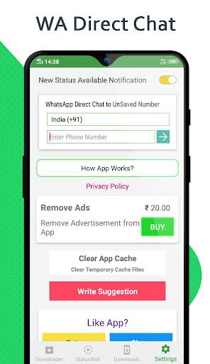 Status Saver - Download for Whatsapp - Ảnh chụp màn hình 3