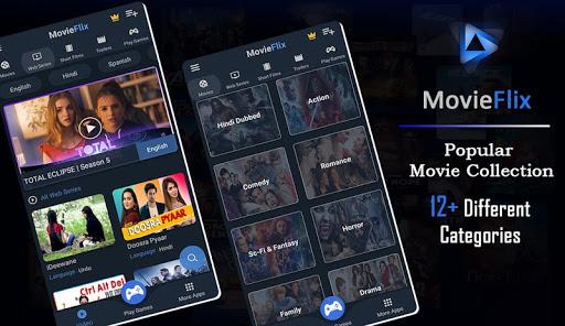 MovieFlix - Free Online Movies & Web Series in HD - Ảnh chụp màn hình 1