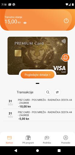 PBZ Card MyWay - screenshot 1