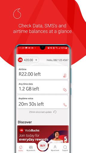 My Vodacom SA - Ảnh chụp màn hình 0